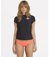 Billabong Women's Surf Dayz Performance Fit Short Sleeve Swim Rashguard