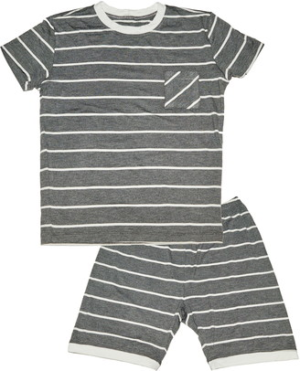 Baby Grey By Everly Grey Aydenne Fitted Two-Piece Short Pajamas