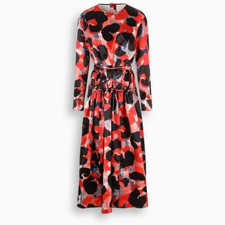 Marni Dress with Abstract Animalier print