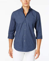 Club Room Men's Dot-Pattern Shirt with Pocket, Only at Macy's