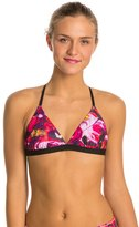 Speedo Turnz Bug Off Triangle Tie Back Swimsuit Top 8133094