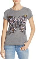 Aqua x Lauren Moshi Short Sleeve Butterfly Tee - 100% Exclusive