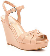 Gianni Bini Radlee Leather Wedges