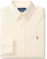 Polo Ralph Lauren Non-Iron Fitted Classic-Fit Button-Down Collar Solid Oxford Dress Shirt