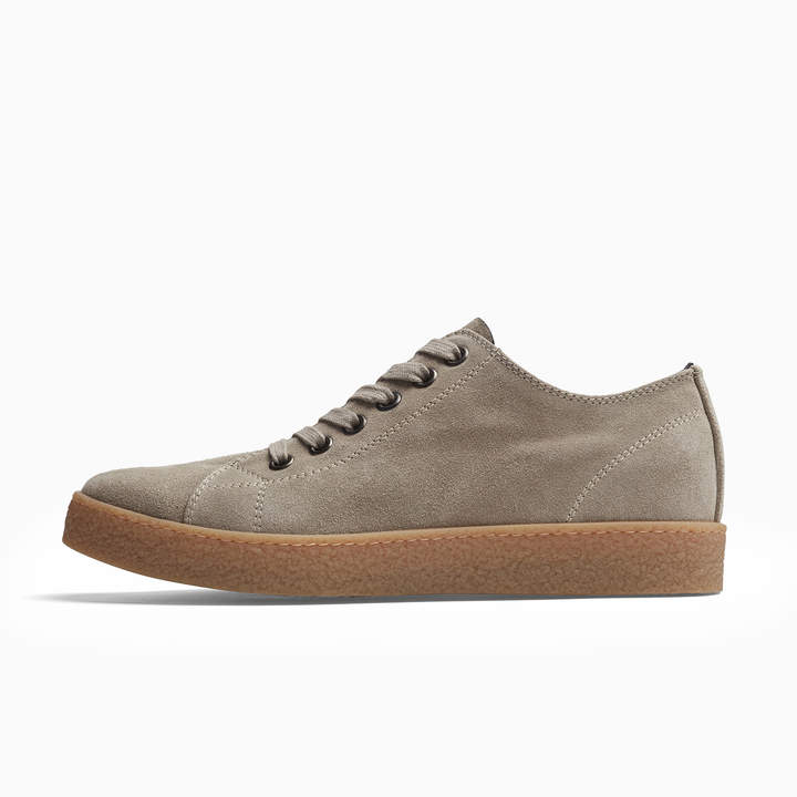 James Perse CARBON SOFT SUEDE SNEAKER - MENS
