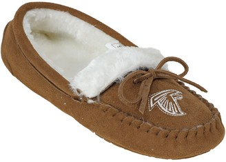 Women's Atlanta Falcons Moccasin Slippers