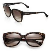 Balenciaga 59MM Tortoiseshell Acetate Square Sunglasses