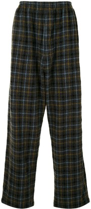 Undercover Plaid Trousers