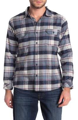 Burnside Plaid Flannel Modern Fit Shirt