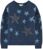 Little Marc Jacobs Sequined wool and cashmere sweater