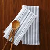 west elm Market Kitchen Towel Set - Ticking Stripe