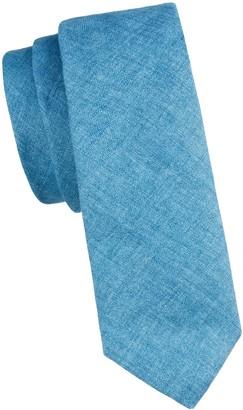 Burberry Stanfield Textured Linen Tie