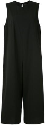 OSKLEN Wide-Leg Cropped Jumpsuit