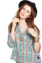 Denim & Supply Ralph Lauren Plaid Linen Utility Shirt