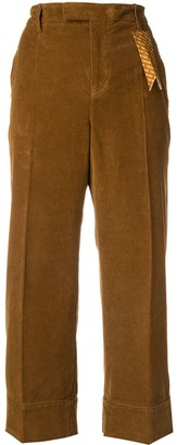 The Gigi Corduroy Cropped Trousers