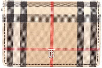 Burberry Vintage Check Card Case