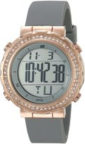 Skechers Women's SR6016 Digital Display Quartz Grey Watch