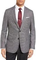 BOSS Men's Nobis Trim Fit Wool & Linen Blazer