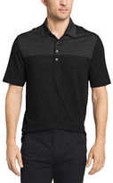 Van Heusen Short Sleeve Blocked Feeder Stripe Polo Shirt