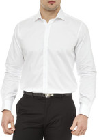 Geoffrey Beene Armstrong Semi Solid Slim Fit Shirt