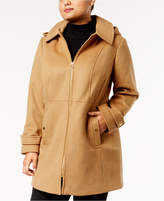 MICHAEL Michael Kors Size Zip-Front Walker Coat