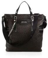 Jimmy Choo Dukes Leather Tote Bag