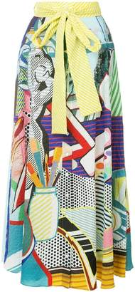 Mary Katrantzou pop art skirt