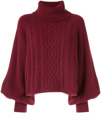 Adam Lippes Cable-Knit Jumper