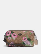 Coach Kira Crossbody In Signature Canvas With Blossom Print