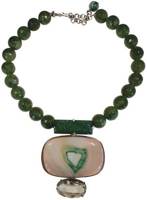 Philippe Ferrandis Green Jade Necklaces