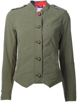 Trina Turk fitted military jacket