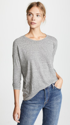 Madewell Ex BF Long Sleeve Tee