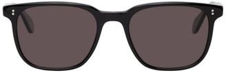 Garrett Leight Black Laminate Emperor 52 Sunglasses