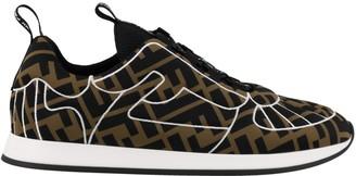 Fendi FFreedom Logo Monogram Lace Up Sneakers