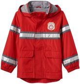 "Carter's Baby Boy Volunteer Fire Fighter"" Patch High-Low Hooded Jacket"