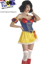 California Costumes Snow White Costume - Adult Rebel Toons Costume - (10-12)
