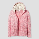 Cat & Jack Girls' Open Cardigans Cat & Jack - Pink