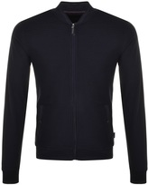 Ted Baker Onslow Full Zip Bomber Sweatshirt Navy