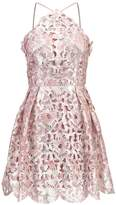 Chi Chi London Petite CASEY Cocktail dress / Party dress blush