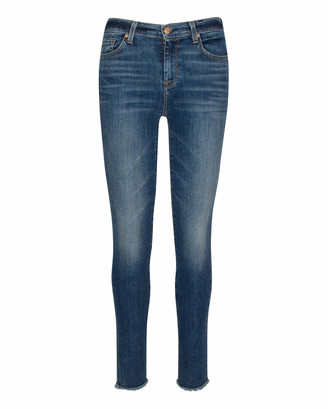 7 For All Mankind High Waist Ankle Skinny in Classic Bungalow