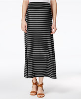 Kensie Striped Maxi Skirt