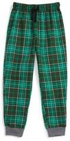 Boy's Tucker + Tate Flannel Jogger Pants
