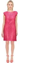 Sue Wong N5138 Cap Sleeve Soutache Embellished Sheath Dress
