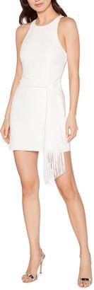 LIKELY Bristol Short Dress w/ Fringe Belt