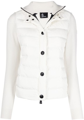 MONCLER GRENOBLE Padded Long-Sleeve Jacket