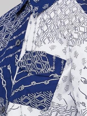Tommy Hilfiger Millie Printed Long Sleeve Blouse