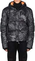 KRU Men's Camouflage Down-Quilted Coat