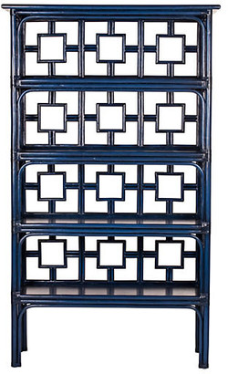 David Francis Furniture Sobe Etagere - Navy