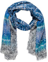 Peter Pilotto Abstract Printed Woven Scarf