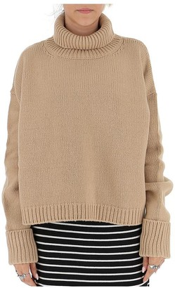 Maison Margiela Roll Neck Knitted Sweatshirt